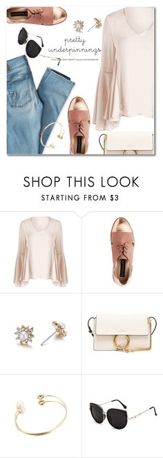 """Untitled #3018"" by svijetlana ❤ liked on Polyvore featuring American Eagle Outfitters and Chloé"