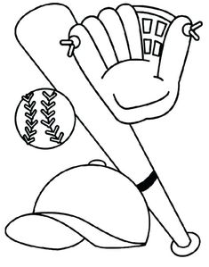 coloring pages to print Make your Kids Creative with Baseball Coloring Pages. As a coloring page lover, it is good for you to give your kids sports coloring pages. One of the bes Baseball Coloring Pages, Sports Coloring Pages, Free Coloring Sheets, Online Coloring Pages, Coloring Pages For Boys, Cartoon Coloring Pages, Coloring Pages To Print, Coloring Books, Kids Coloring