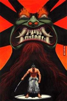 Image result for samurai jack art
