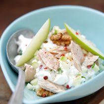 Salade de thon aux pommes vertes