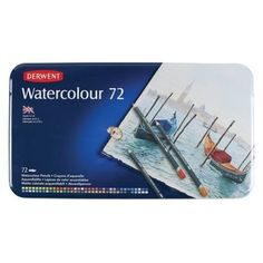 Looking for Derwent Water Colour Pencil Tin Sets? Browse the range of Derwent products from one of the largest Art & Craft supplies retailers in Australia. Artist Supplies, Craft Supplies, Copic, Derwent Colored Pencils, Pastel Pencils, Adult Coloring, Coloring Books, Watercolor Pencils Techniques, Types Of Pencils