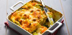 Lasanha de bacalhau com legumes - Fique a conhecer todas as receitas tradicionais portuguesas em: www.asenhoradomonte.com