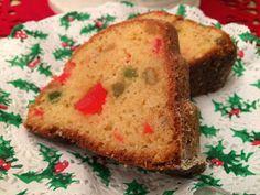 Liian hyvää: Jouluinen punssi-hedelmäkakku Sweet Recipes, Banana Bread, Holiday, Christmas, Muffin, Sweets, Baking, Breakfast, Desserts