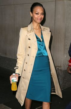 Zoe Saldana Visits the 'Today' Show - Pictures - Zimbio