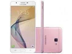 "Smartphone Samsung Galaxy J7 Prime 32GB Rosa - Dual Chip 4G Câm 13MP + Selfie 8MP Flash Tela 5.5"""