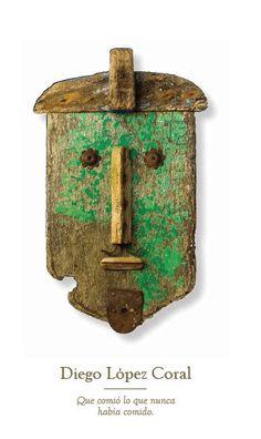 Conquistadores - Pep Carrió Driftwood Sculpture, Driftwood Art, Sculpture Art, Painted Driftwood, Found Object Art, Junk Art, American Indian Art, Assemblages, Wood Creations