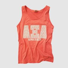Comfort Colors Alpha Xi Delta Tank Top