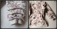 Such a cute sleeve treatment. Recycled Fashion: Layered Sleeves and Recycled Fashion Finds # 3