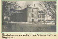 Rautenburg, Schloß von der Rückseite