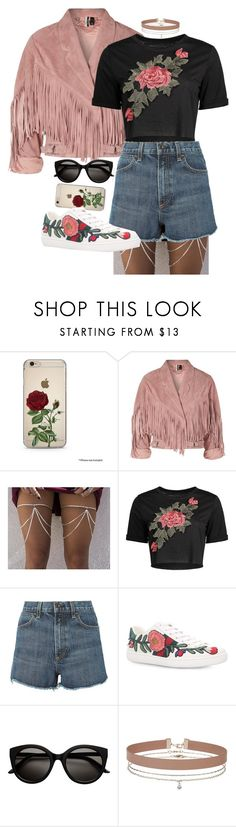 """🌹"" by gem-leigh on Polyvore featuring Topshop, rag & bone, Gucci and Miss Selfridge"