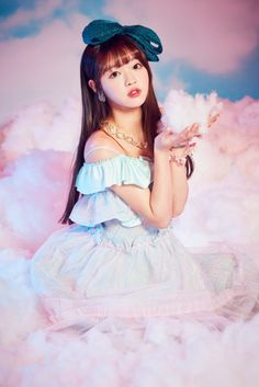 Oh My Girl are floating on clouds in new teaser images for 'Coloring Book' | allkpop.com