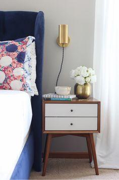 Master Bedroom Makeover Mid-Century Modern