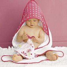 Articulos De Bebe | capa-de-bano-de-fantasia-rosa-intenso-bebe-nina-er453_2_zc1