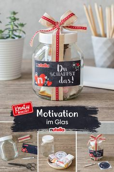 Diy Crafts Hacks, Homemade Crafts, Diy And Crafts, Get Well Soon Gifts, Diy Bags Purses, Diy Presents, Jar Gifts, Teacher Appreciation Gifts, Diy Party Decorations