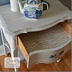 16 creative ways to decoupage furniture, bedroom ideas, crafts, decoupage, diy, furniture furniture revivals, home decor