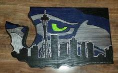 Hey, I found this really awesome Etsy listing at https://www.etsy.com/listing/230741131/seattle-seahawks-nail-and-string-art