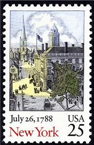 Issued during the Bicentennial of the Ratification of the U.S. Constitution