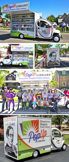 We are proud to be selected in designing the Grandview Heights Public Library PopUp Truck. Columbus Ohio.
