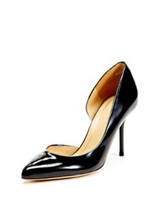 Patent Leather d'Orsay Pump from The New Classics: Luxury Shoes & Handbags on Gilt