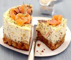 Cheese cake au saumon fumé - Recettes, Cuisine