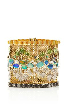 One of a Kind River Of Life Bracelet by Vicente Gracia for Preorder on Moda Operandi