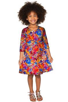 Summer Dizziness Gloria Empire Waist Dress - Girls