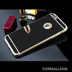 Luxury Top Ultra Soft TPU Acrylic Mirror Case Cover for Phone 6 6S 6Plus 7 7Plus
