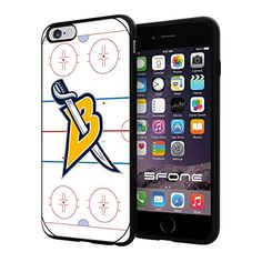 """Buffalo Sabres Rink Ice #2138 iPhone 6 Plus (5.5"""") I6+ Case Protection Scratch Proof Soft Case Cover Protector SURIYAN http://www.amazon.com/dp/B00X5PJ5EO/ref=cm_sw_r_pi_dp_6ziwvb0S11MMM"""