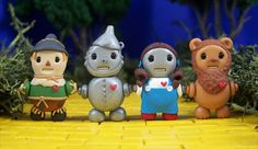 Polymer Clay People | These tiny robots, created by Jenn and Tony Bot, may look edible, but ...