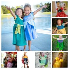 Everyday Princess Dress. For every Princess, including Jessie from Toy Story!