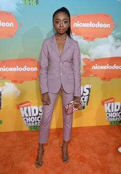Skai Jackson Photos - Actress Skai Jackson attends Nickelodeon's 2016 Kids' Choice Awards at The Forum on March 12, 2016 in Inglewood, California. - Nickelodeon's 2016 Kids' Choice Awards - Red Carpet