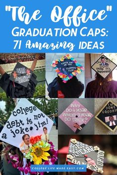Grad cap ideas guaranteed to deliver instant inspiration. You don't need to be a super fan to appreciate these classic graduation quotes from The Office. Son Birthday Quotes, Happy Birthday Sister, Happy Birthday Images, Happy Birthday Greetings, Sons Birthday, Birthday Wishes, Senior Graduation Quotes, Graduation Diy, Graduation Invitations