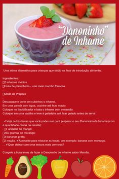 Cardápios de papinhas para bebê, nutritivo, saúde do bebe, receita saudável para bebê #danoninhodeinhame meubebesaude #paidemenina #paidemenino #introducaoalimentar #rescemnascido #newborn #alimentacaosaudavel #alimentacaonatural #vovocoruja #mamaecoruja #6meses #creche #filhos #mamaeblogger #futuramamae #mamaedeprimeiraviagem #mamae #paibabao #meubebe #bebesfofos #prematuridade #mamaeapaixonada #sermae #maternidadereal #maternidade Substitute For Egg, Milk And Cheese, Baby Puree, Plant Based Diet, Kids Meals, Alice, Food And Drink, Veggies, Low Carb