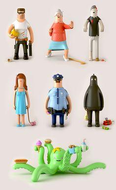 Toy Design by Yum Yum