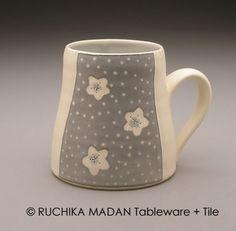 Winter Blossom Mug Ruchika Madan by ruchika on Etsy, $38.00