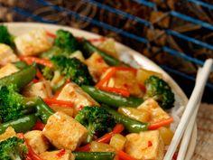 Cari rouge aux légumes