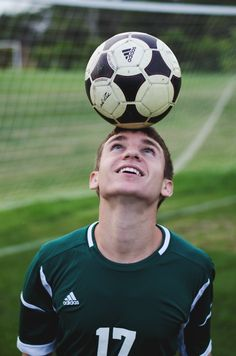 If so, have you ever played soccer? Soccer is a very fun game for people of all ages. Of course, any sport is more fun whenever you Soccer Poses, Soccer Senior Pictures, Soccer Team Photos, Soccer Shoot, Soccer Guys, Kids Soccer, Team Pictures, Senior Guys, Sports Pictures