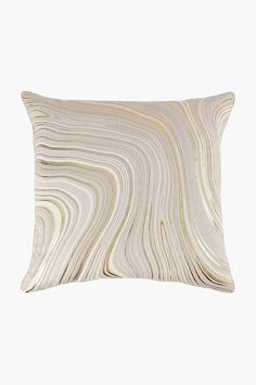 Woven Marble Latte Feather Scatter Cushion, 60x60cm - Shop New In - Ho Scatter Cushions, Throw Pillows, Down Feather, Home Decor Shops, Latte, Marble, Design, Toss Pillows, Small Cushions