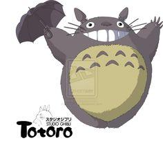 totoro smile wallpaper - Google Search