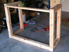 Standing Desk Construction