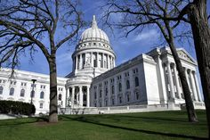 Wisconsin State Capitol building in Madison.