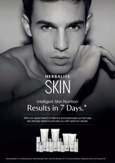 YES!! Men use Herbalife SKIN products as well, it is not only for women. www.goherbalife.com/annielopes