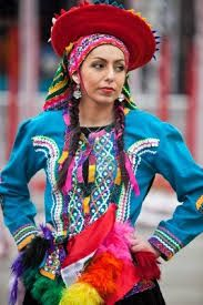 american latin traditional dress clothing apparel dresses america cultural widows chile designers mexican play samba