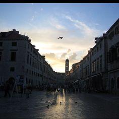 Flight over Dubrovnik.
