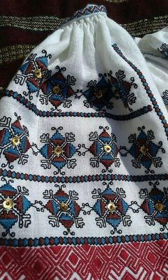 Folk Embroidery, Embroidery Stitches, Folk Costume, Costumes, Girl Blog, Cross Stitch Patterns, Popular, Collection, Fashion