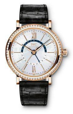 TimeZone : Ladies Watch Forum » Watches & Wonders 2014: IWC Portofino Midsize Collection