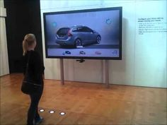 Pilot project for Volvo Cars by TOUCHTECH in co-operation with LBi. By using the Kinect, customers can configure the car to their specific style using their hands to navigate in the air.