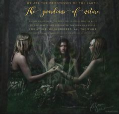 We are the Priestesses of the Earth, the guardians of Nature.  We have always known this magic that is etched upon the walls of our hearts and resonated through our Souls. For a time, we slumbered, all the while the power within us stirring and growing. And now we awaken and rise together... ~ Ara WILD WOMAN SISTERHOOD™ #WildWomanSisterhood #womenoftheearth #sacredwoman #ara #wildwomamedicine