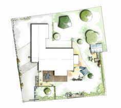 Plan d'aménagement paysager