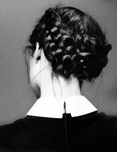 double crown braid